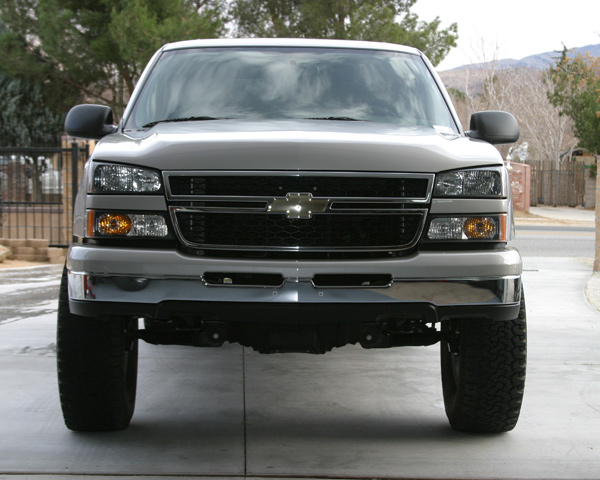 2006 Chevy Grill Swap Without The Hood In A 2003 Page 3